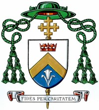 His Excellency Most Reverend Bishop Miehm's Coat of Arms