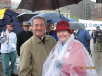 Fr. Tom Lynch at the March for Life