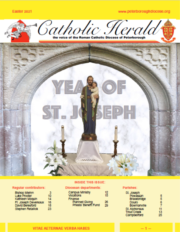 The Catholic Herald Easter 2021