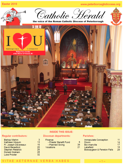 The Catholic Herald Easter 2019