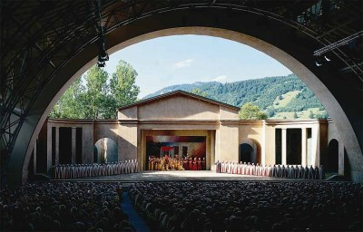 Oberammergau, Germany - Passion Play stage