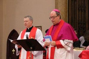 Bishop Miehm and Fr. Craig Cruikshank