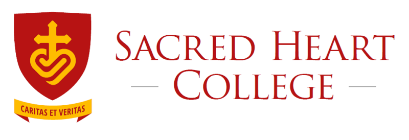Sacred Heart College logo and coat of arms