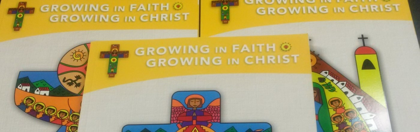 Growing in Faith; Growing in Christ books