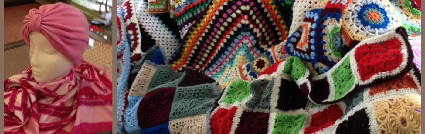 Blankets and Hat for Palliative Care