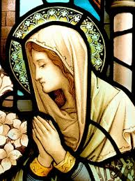 St. Mary at Prayer (stained glass window)